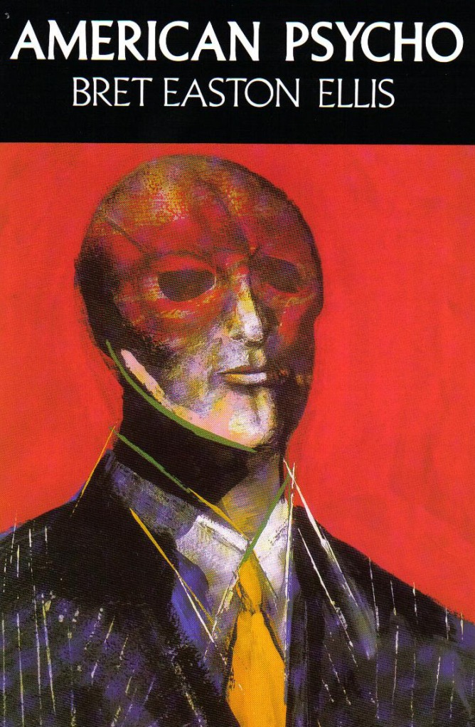 The cover of the novel American Psycho